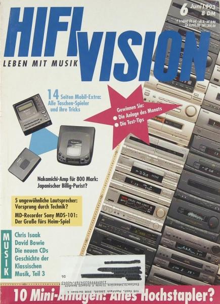 Hifi Vision 6/1993 Zeitschrift