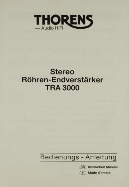 Thorens TRA 3000 Bedienungsanleitung