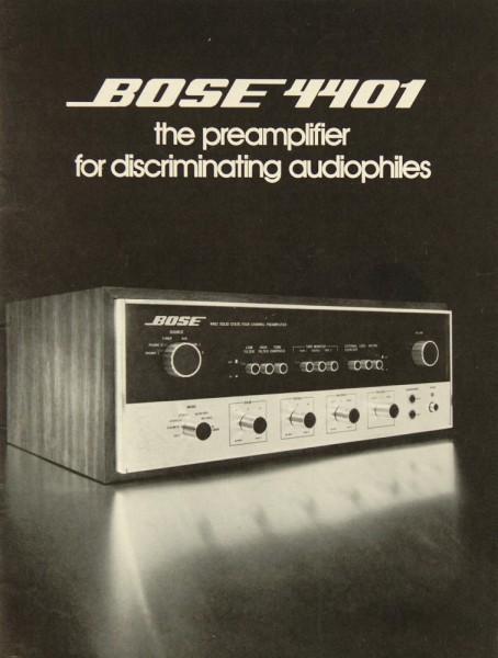 Bose 4401 Bedienungsanleitung