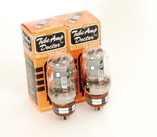 TAD Tube Amp Doctor KT66 selected gematchtes Paar