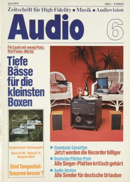 Audio 6/1979 Zeitschrift