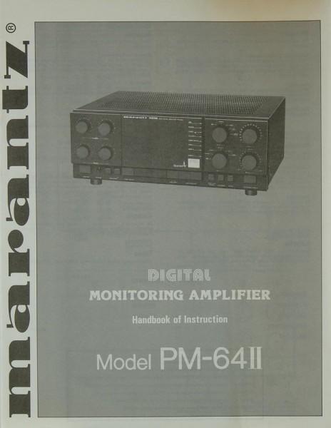 Marantz PM-64 II Bedienungsanleitung