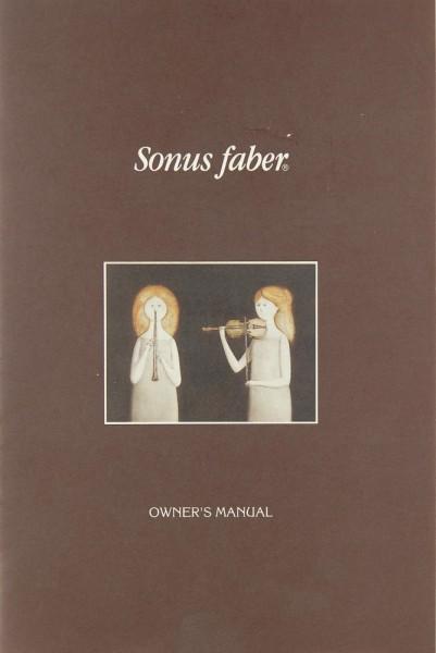 Sonus Faber Concertino Bedienungsanleitung