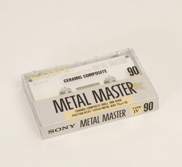 Sony C-90 Metal Master MTL-MST90c NEU!