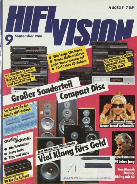 Hifi Vision 9/1988 Zeitschrift