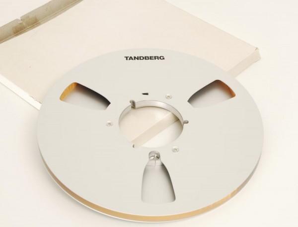 Tandberg 27er Leerspule Metall silbern