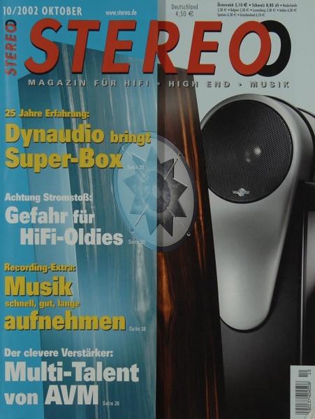 Stereo 10/2002 Zeitschrift