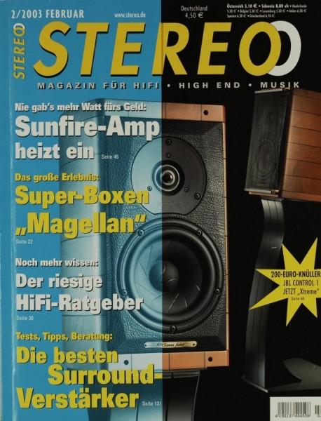 Stereo 2/2003 Zeitschrift
