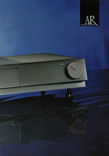 Acoustic Research Produktübersicht Prospekt / Katalog