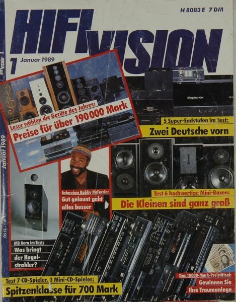 Hifi Vision 1/1989 Zeitschrift