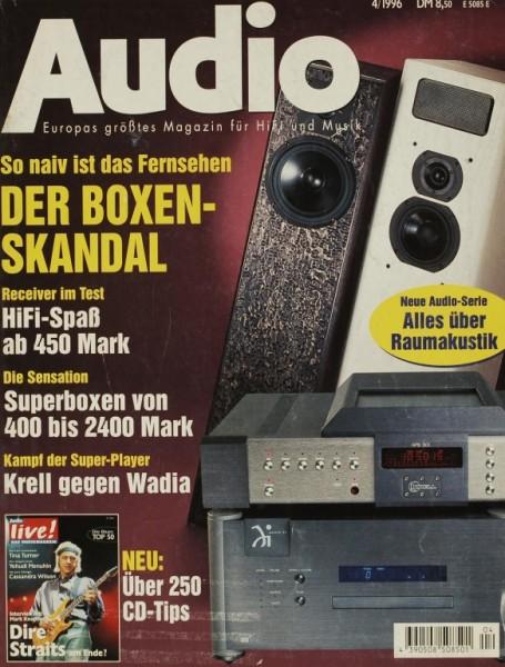 Audio 4/1996 Zeitschrift