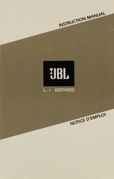 JBL L Series Bedienungsanleitung