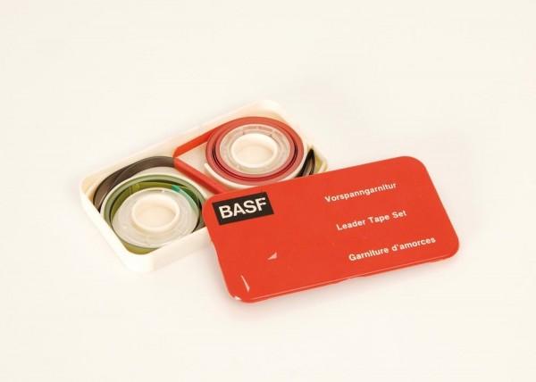 BASF Magnetband + Vorlaufband rot + grün