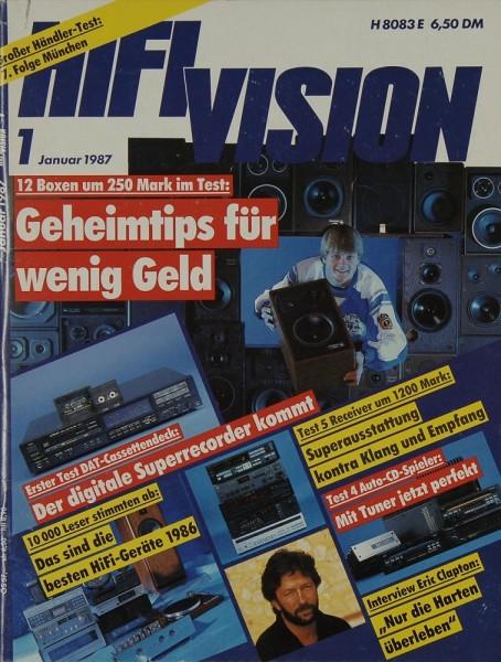 Hifi Vision 1/1987 Zeitschrift