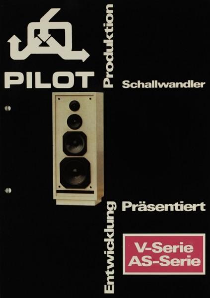 Pilot V-Serie / AS-Serie Prospekt / Katalog