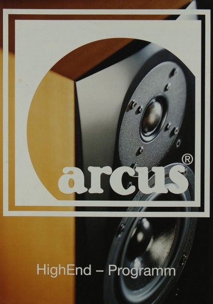 Arcus HighEnd-Programm Prospekt / Katalog
