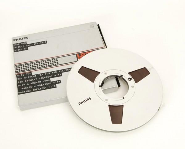 Philips LP2600 Tonband 27 er Metall NAB silbern