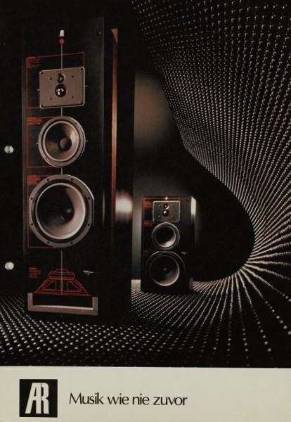 Acoustic Research AR Musik wie nie zuvor Prospekt / Katalog