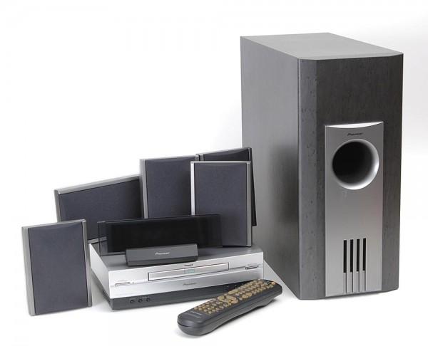 Pioneer XV-DV 55 DVD Surroundanlage mit LS