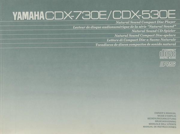 Yamaha CDX-730 E / CDX-530 E Bedienungsanleitung