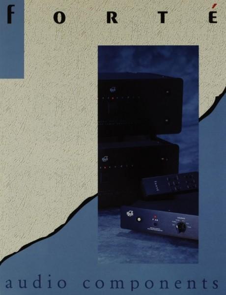Forté Audio Components Prospekt / Katalog