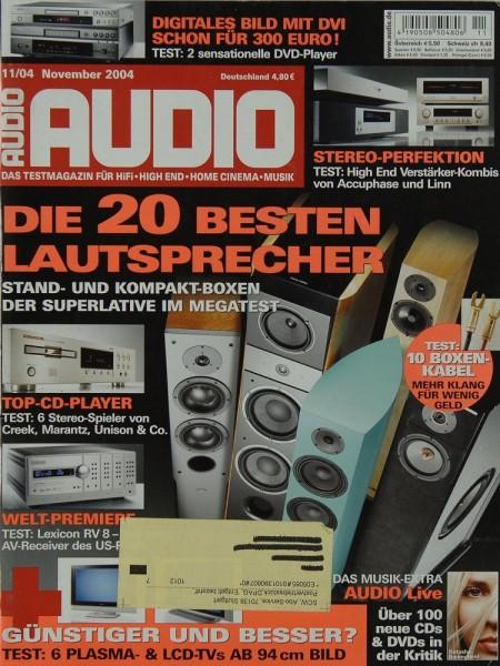 Audio 11/2004 Zeitschrift