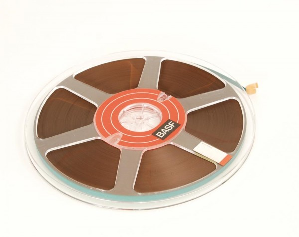 BASF Tonband 25er Kunststoff voll