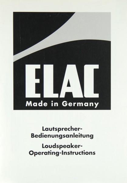 Elac CL 202 Bedienungsanleitung