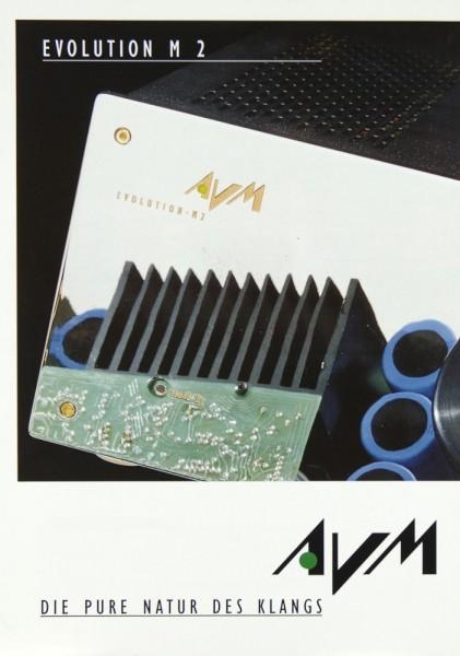 AVM Evolution M 2 Prospekt / Katalog