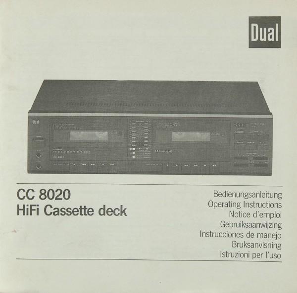 Dual CC 8020 Bedienungsanleitung