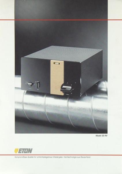 Eton 30 RV Prospekt / Katalog