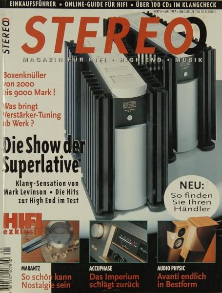Stereo 5/1997 Zeitschrift