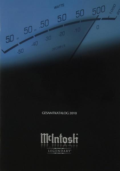 McIntosh Gesamtkatalog 2010 Prospekt / Katalog