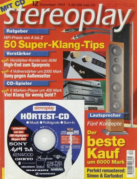 Stereoplay 12/1997 Zeitschrift