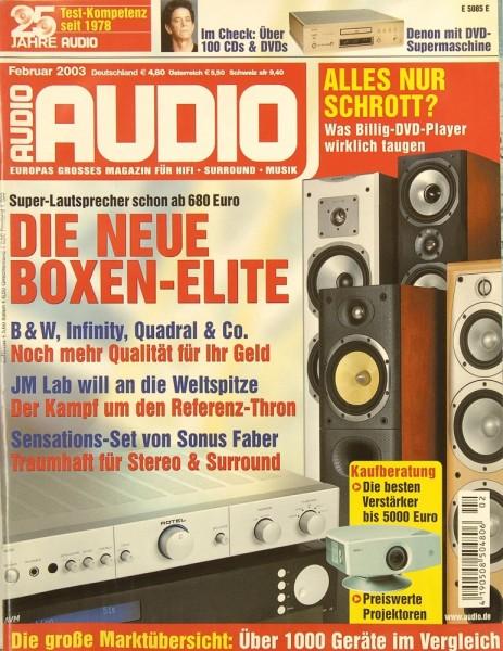 Audio 2/2003 Zeitschrift