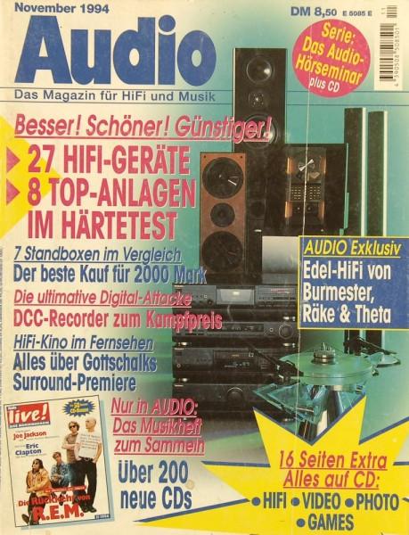 Audio 11/1994 Zeitschrift