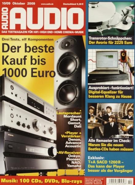 Audio 10/2009 Zeitschrift