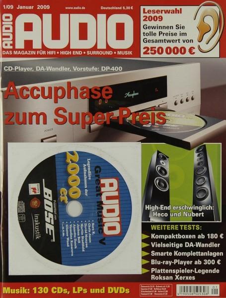 Audio 1/2009 Zeitschrift