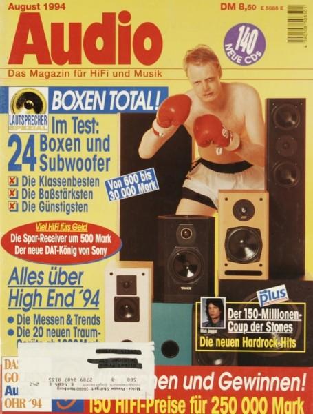 Audio 8/1994 Zeitschrift