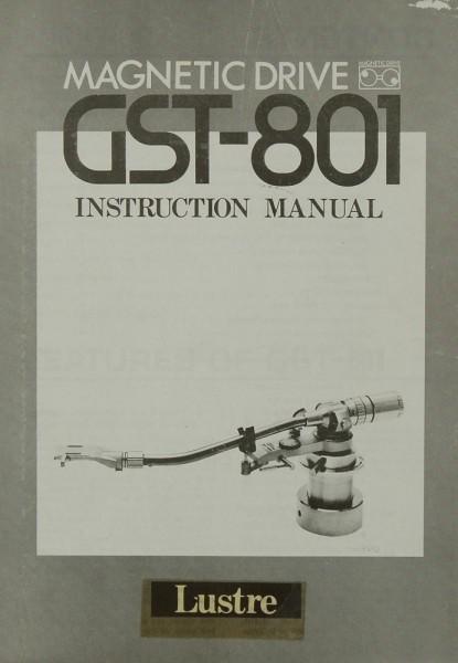 Lustre GST-801 Bedienungsanleitung