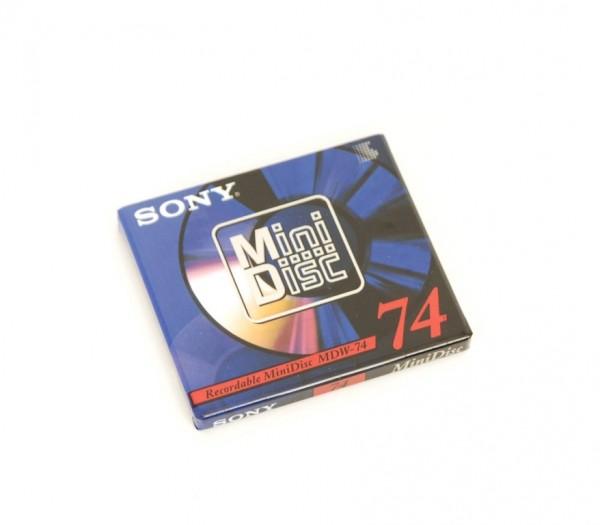 Sony MDW-74 Mini Disc 74 NEU!