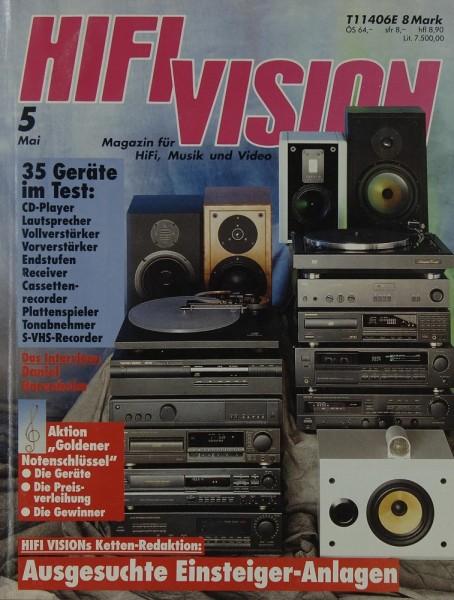 Hifi Vision 5/1992 Zeitschrift