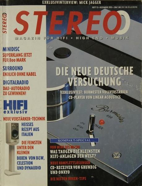 Stereo 12/1995 Zeitschrift