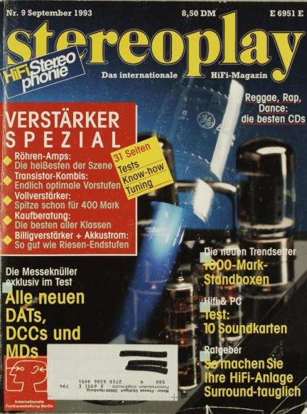 Stereoplay 9/1993 Zeitschrift