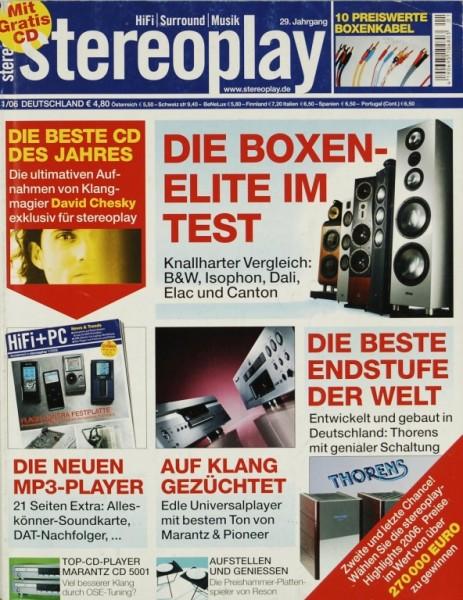 Stereoplay 1/2006 Zeitschrift