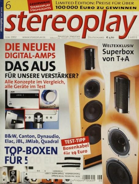 Stereoplay 6/2002 Zeitschrift