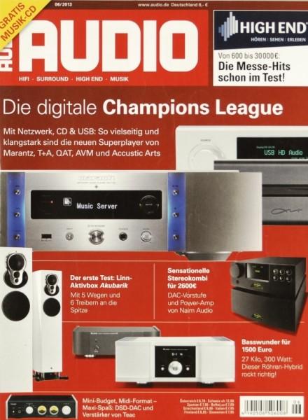 Audio 6/2013 Zeitschrift