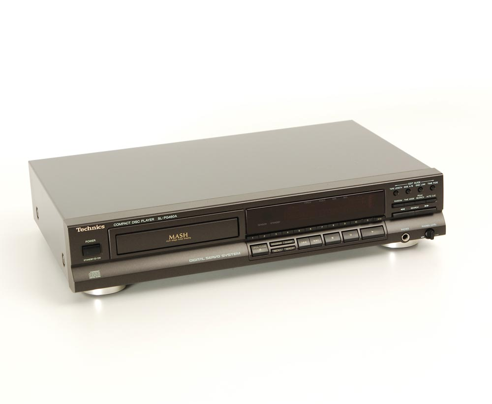 technics sl pg 460 a cd player cd ger te ger te. Black Bedroom Furniture Sets. Home Design Ideas