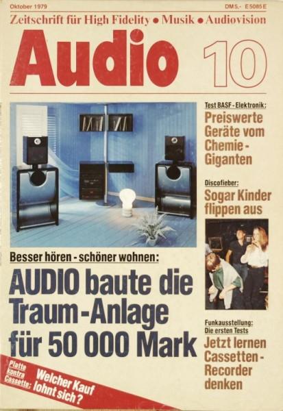 Audio 10/1979 Zeitschrift