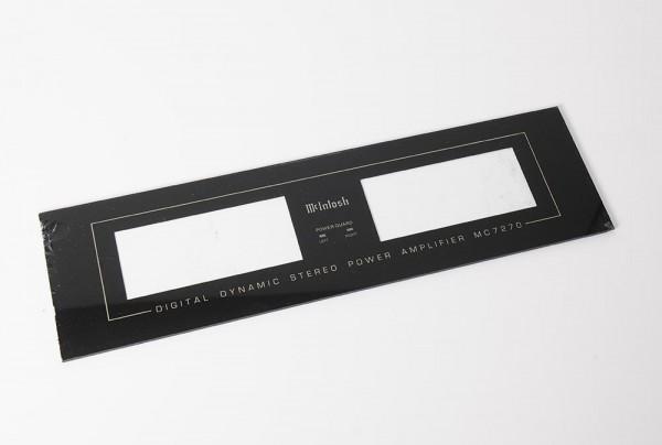 Mc Intosh MC 7270 Frontplatte
